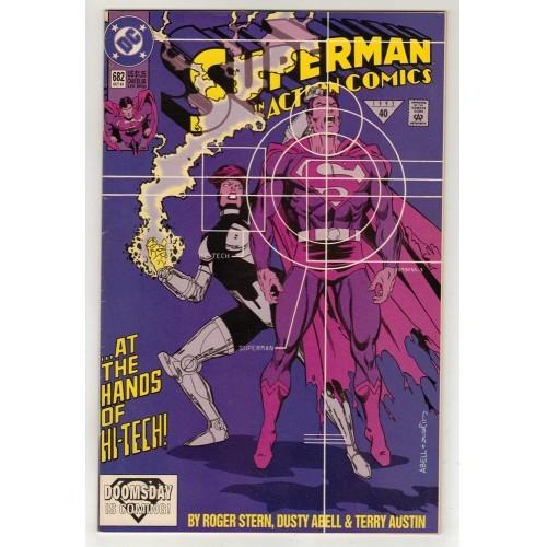 1992 Action Comics # 682 – VF
