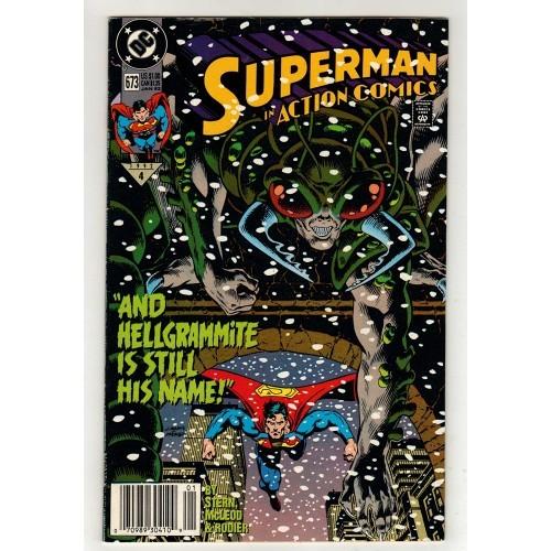 1992 Action Comics # 673 – NM