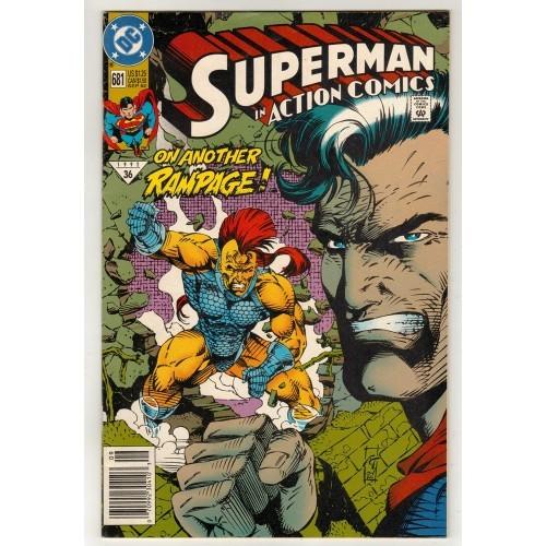 1992 Action Comics # 681 – NM