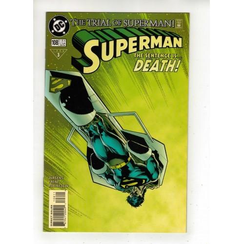 1996 Superman Comic # 108 – NM