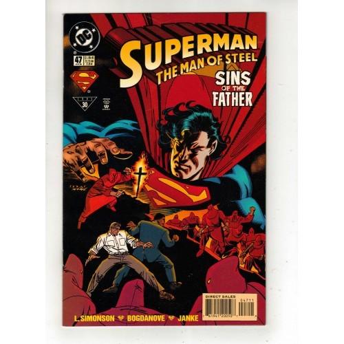 1995 Superman The Man Of Steel Comic # 47 – LN