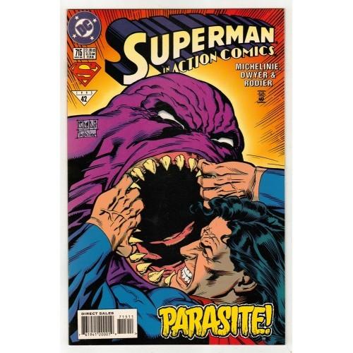 1995 Action Comics # 715 – LN