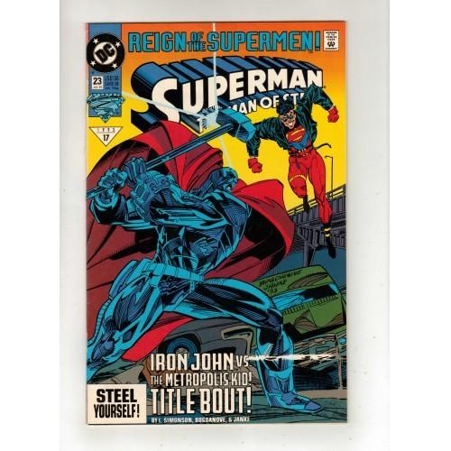 1993 Superman The Man Of Steel Comic # 23 - VF