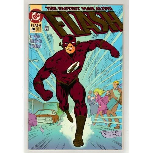 1993 Card Stock Foil Cover Flash Comic # 80 Variant – LN
