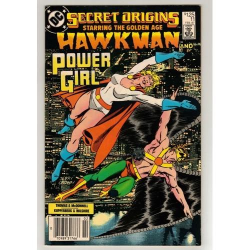 1987 Secret Origins Comic # 11 – VF