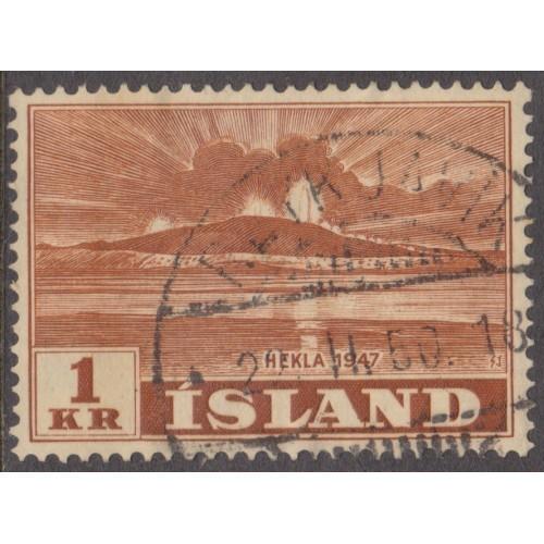 USED ICELAND #251 (1948)