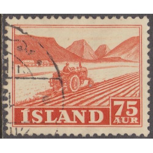 USED ICELAND #262 (1952)
