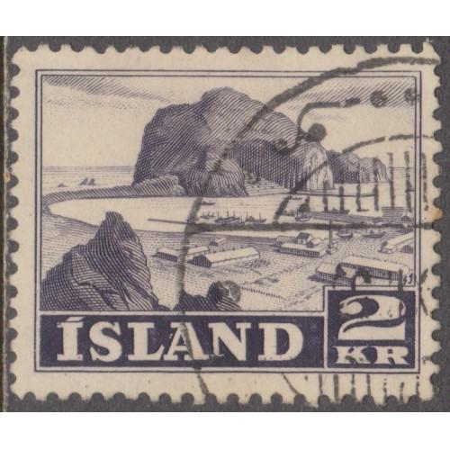 USED ICELAND #267 (1950)