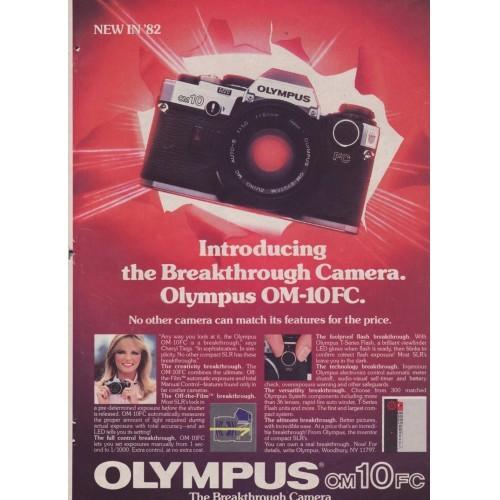 Olympus -OM-10FC Camera - Magazine Ad