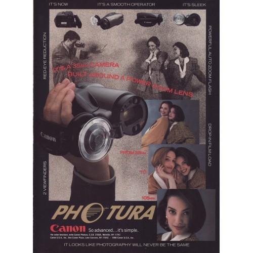 Canon -  Photura Camera Magazine Ad