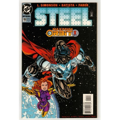 1995 Steel comic # 11 – NM