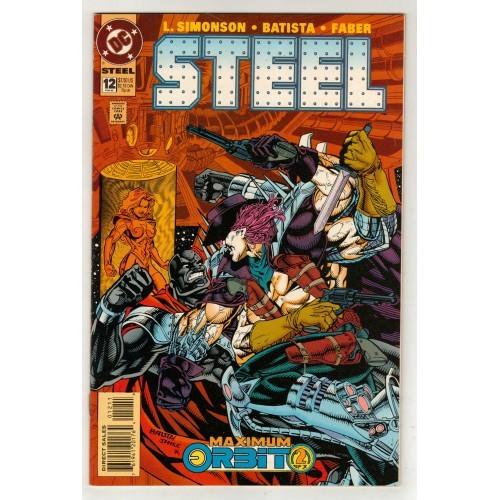 1995 Steel comic # 12 – NM