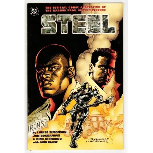 1997 Steel Movie Comic Adaption – LN