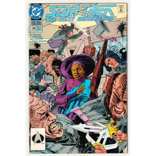 1992 Star Trek The Next Generation Comic # 34 – NM