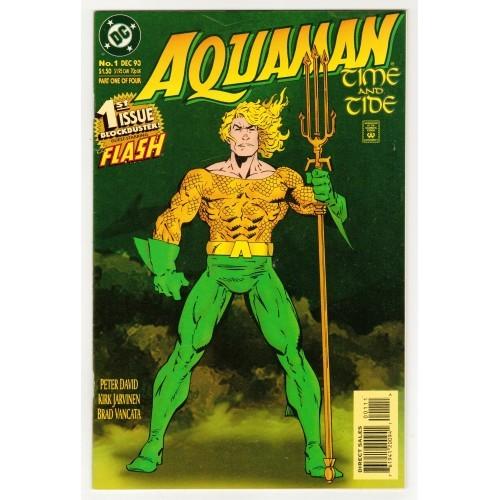 1993 AquaMan Time And Tide Comic # 1 – NM