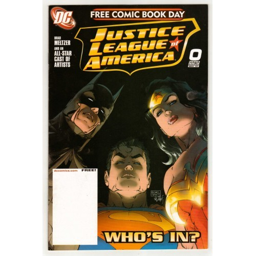 2007 Comic Book Day Promotional Justice League America # 0 – VF