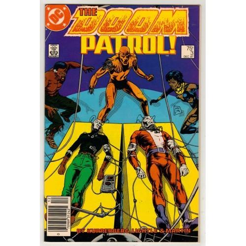 1987 Doom Patrol Comic # 3 – VF