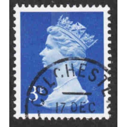 Great Britain - Scott #MH36 Used (3)
