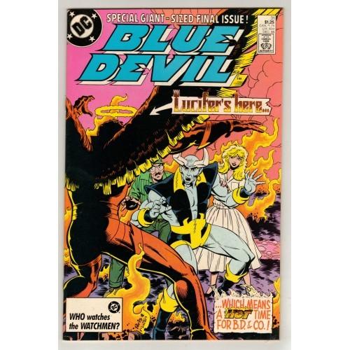 1986 Blue Devil Comic # 31 – VF+