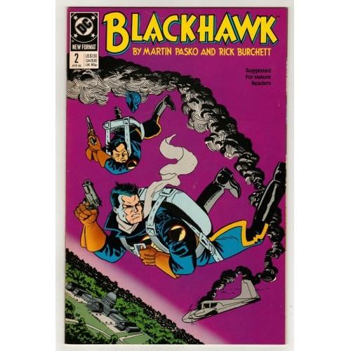 1989 BlackHawk Comic # 2 – NM