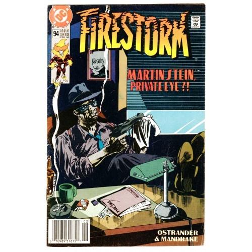 1990 Firestorm Comic The Nuclear Man # 94 – VF