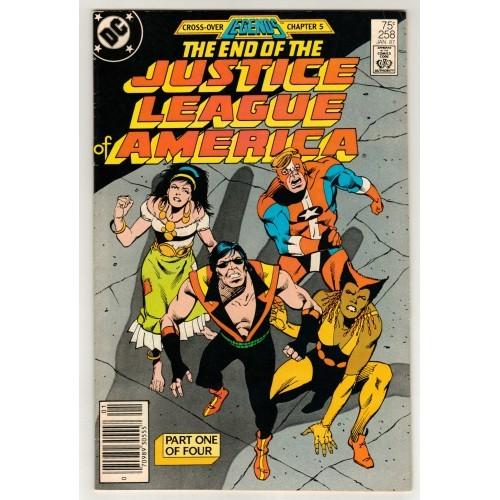1987 Justice League America Comic # 258 – FN+
