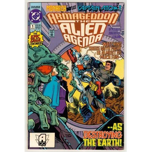 1991 Armageddon The Alien Agenda Comic # 1 – VF