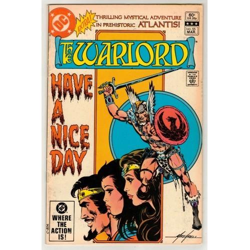 1982 WarLord Comic # 55 – Fn