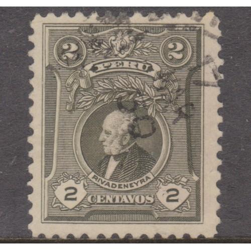 USED PERU #242 (1924)