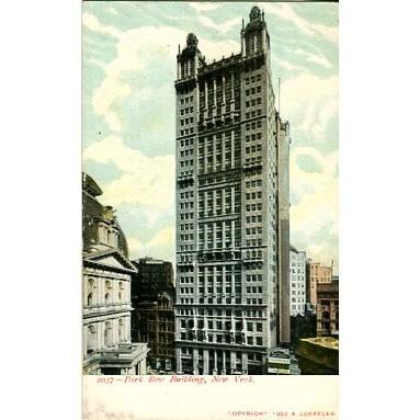 Undivided Back Postcard. Park Row Building, New York