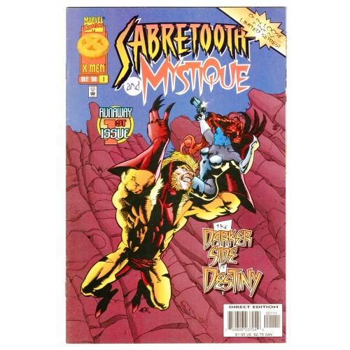 1996 Mystique And Sabretooth Comic # 1 – VF+