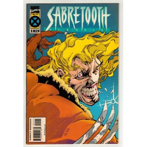 1995 Sabretooth Classic Comic # 15 – VF+