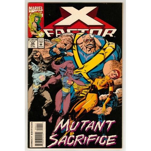X-Men 1993 X Factor Comic # 94 – FN