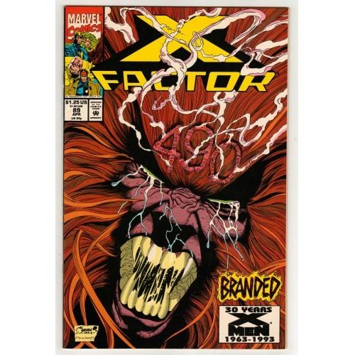 X-Men 1993 X Factor Comic # 89 – FN