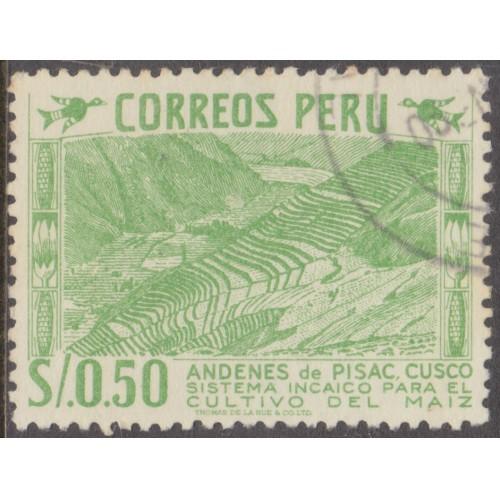 USED PERU #464 (1953)