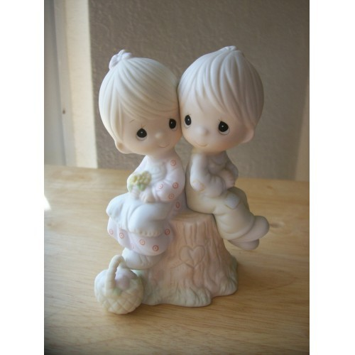 "1978 Precious Moments ""Love One Another"" Figurine"