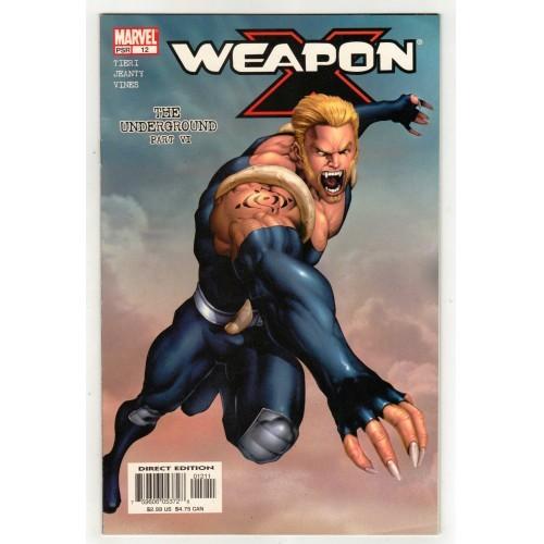 2003 Weapon X Comic # 12 – VF