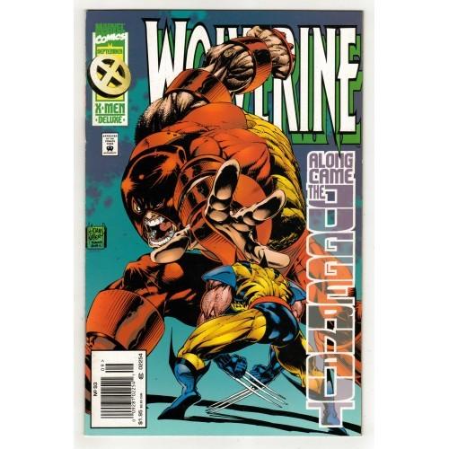 1995 X-Men Deluxe Edition Wolverine Comic # 93 – LN