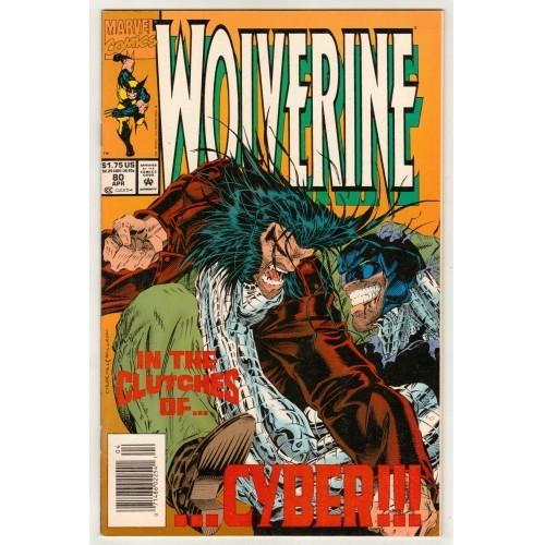 1994 Wolverine Comic # 80 – FN+