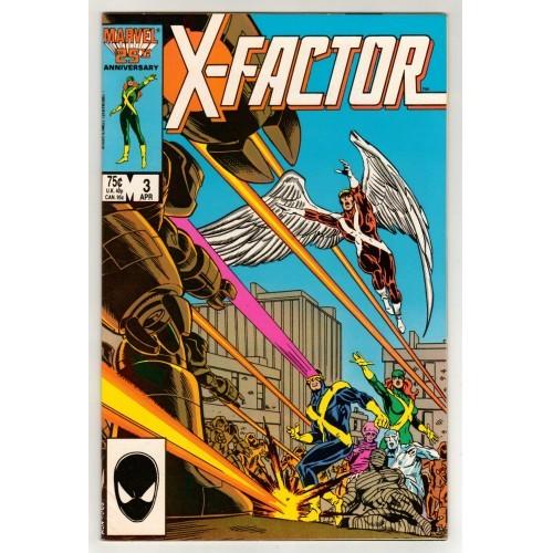 X-Men 1986 X Factor Comic # 3 – VF