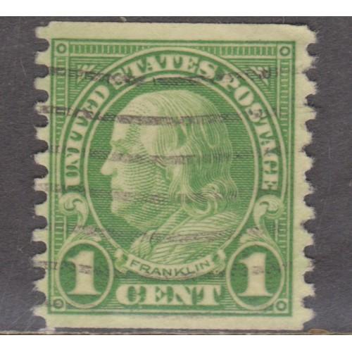 USED SCOTT #597 (1923)