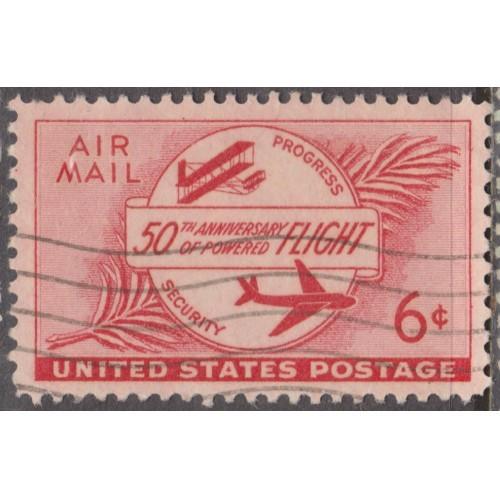 USED SCOTT #C47 (1953)