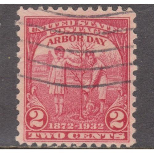 USED SCOTT #717 (1932)