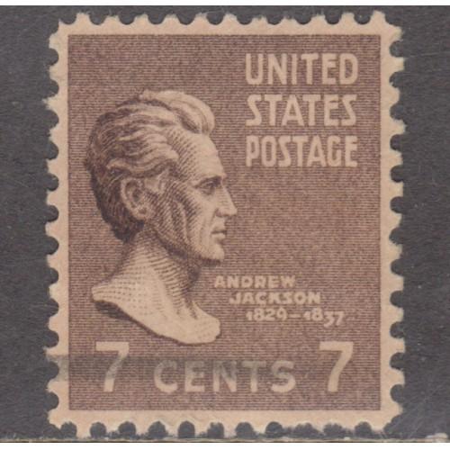 USED SCOTT #812 (1938)