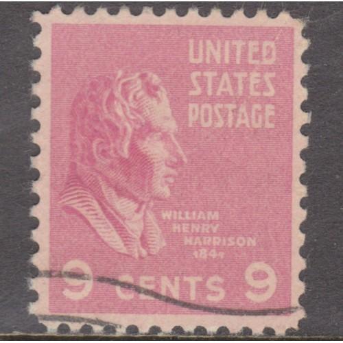 USED SCOTT #814 (1938)