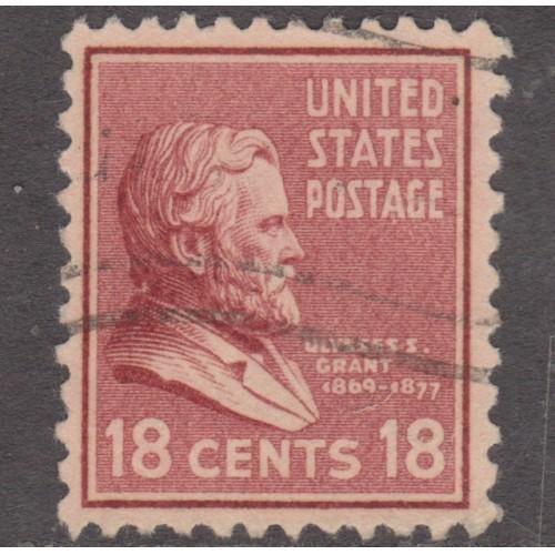 USED SCOTT #823 (1938)