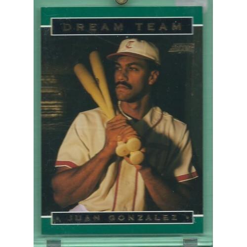 1994 Score Dream Team #7 JUAN GONZALEZ Rangers baseball