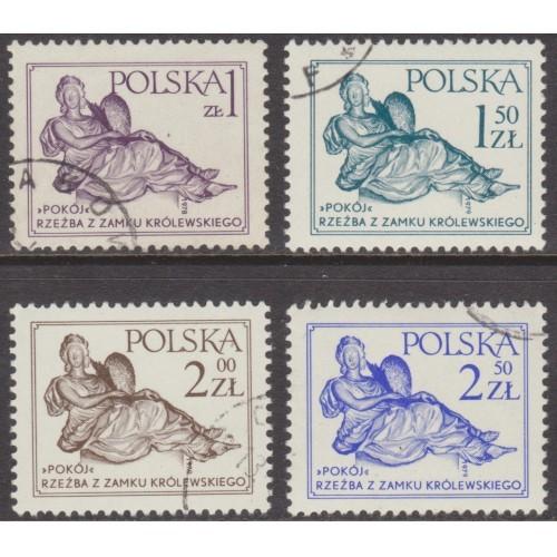 USED POLAND #2284-2287 (COMPLETE 1978-1979 SET)