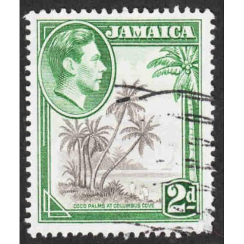 Jamaica - Scott #119a Used - Perf 13 X 13 1/2 (2)