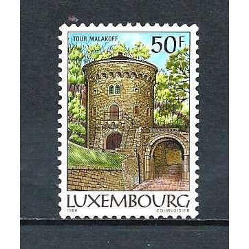 LUXEMBOURG 1986 – Used Sc. 755. CV $2